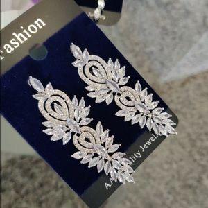 Luxury Wedding/ Party Cubic Zirconia Earrings!